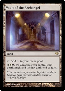 Vault of the Archangel Magic Card