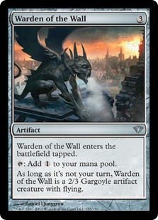 Warden of the Wall Magic Card