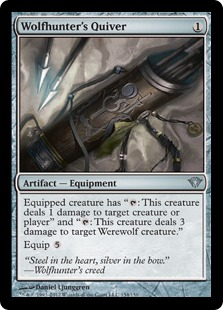 Wolfhunter's Quiver Magic Card