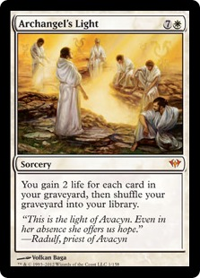Archangel's Light Magic Card