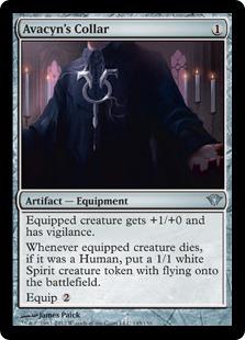 Avacyn's Collar Magic Card