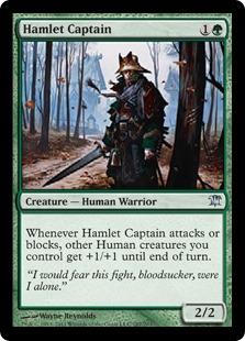 Hamlet Captain Magic Card