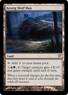 Kessig Wolf Run Magic Card