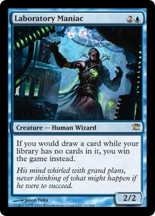 Laboratory Maniac Magic Card