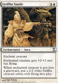 Griffin Guide Magic Card
