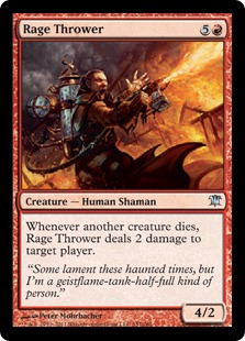 Rage Thrower Magic Card