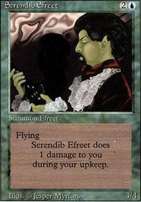 Serendib Efreet Magic Card