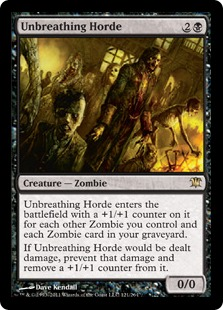 Unbreathing Horde Magic Card