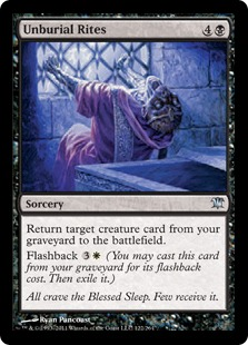 Unburial Rites Magic Card