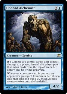 Undead Alchemist Magic Card