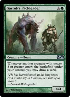 Garruk's Packleader Magic Card