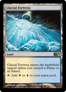 Glacial Fortress Magic Card