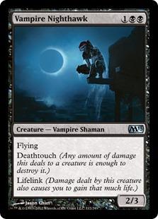 Vampire Nighthawk Magic Card