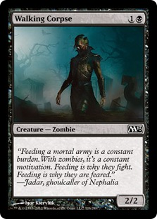 Walking Corpse Magic Card