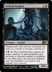 Xathrid Gorgon Magic Card