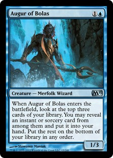 Augur of Bolas Magic Card
