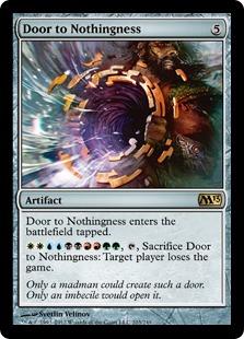 Door to Nothingness Magic Card