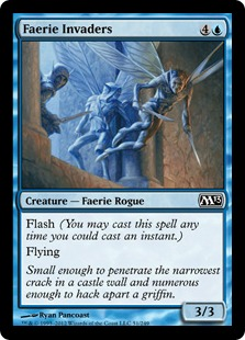 Faerie Invaders Magic Card