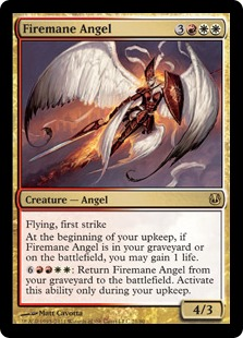 Firemane Angel Magic Card