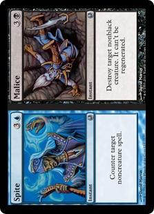 Malice Magic Card