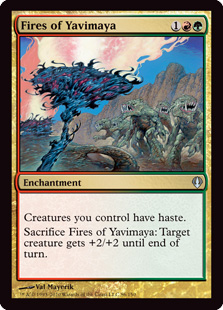 Fires of Yavimaya Magic Card