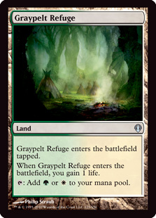 Graypelt Refuge Magic Card
