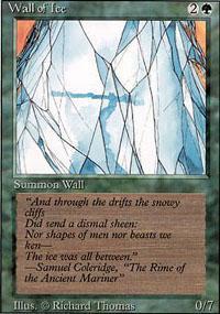 Wall of Ice Magic Card