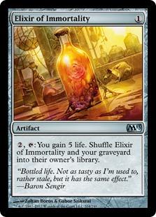 Elixir of Immortality Magic Card