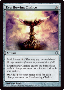 Everflowing Chalice Magic Card