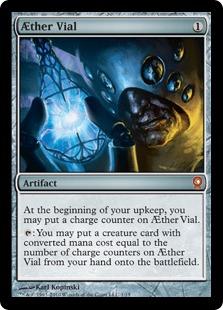 AEther Vial Magic Card