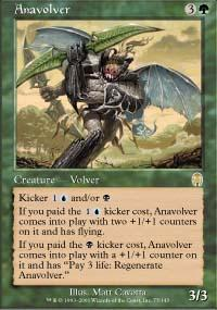 Anavolver Magic Card
