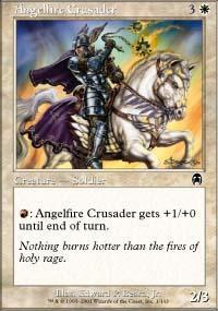 Angelfire Crusader Magic Card