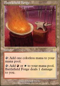 Battlefield Forge Magic Card