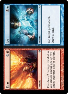 Ice Magic Card