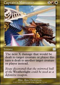 Captain's Maneuver Magic Card