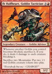 Ib Halfheart, Goblin Tactician Magic Card