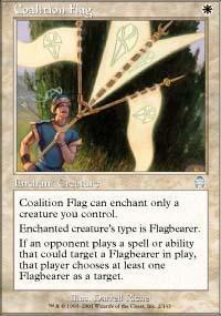 Coalition Flag Magic Card