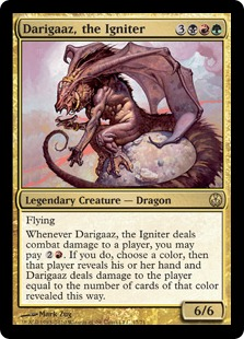 Darigaaz, the Igniter Magic Card