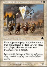 Coalition Honor Guard Magic Card