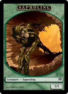 Saproling Magic Card