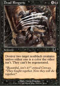 Dead Ringers Magic Card