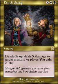 Death Grasp Magic Card