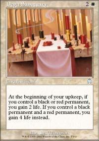 Dega Sanctuary Magic Card