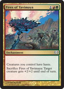 Fires of Yavimaya Magic Card
