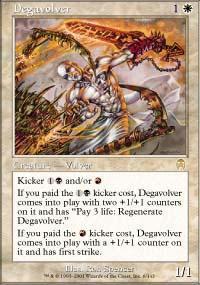 Degavolver Magic Card