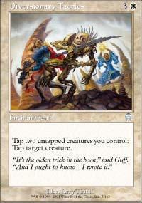 Diversionary Tactics Magic Card