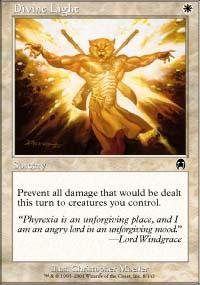 Divine Light Magic Card