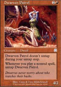 Dwarven Patrol Magic Card
