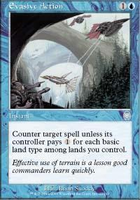 Evasive Action Magic Card