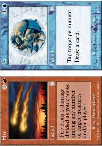 Fire // Ice Magic Card